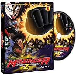 Mazinger Edicion Z Impacto Vol.4 (episodios 15-18) [DVD]