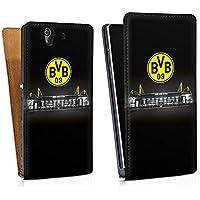 Sony Xperia Z Tasche Hülle Flip Case Borussia Dortmund BVB Stadion