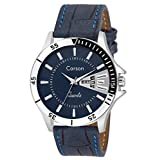 #8: Carson Analogue Blue Dial Men'S Watch- Cr1535