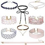 Collane girocollo elasticizzate in velluto per ragazze, Tpocean - Best Reviews Guide