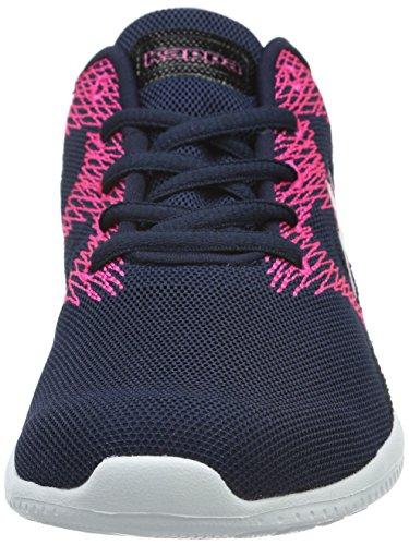 Kappa Ferret, Sneaker Basse Unisex - Adulto Blu (Blau (6722 Navy/Pink))