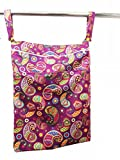 Superbottoms Cloth Diaper Wet Bag with Dual Compartment and Generous Sizing - Utsav