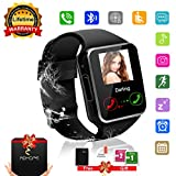 Bluetooth Smart Watch Phone Touchscreen Armbanduhr Handy-uhr Sport Smartwatch Uhr Wasserdicht Fitness Intelligente Smart Uhr Telefon Kompatible IOS Andriod Iphone X 8 7s Smartphones für Herren Damen