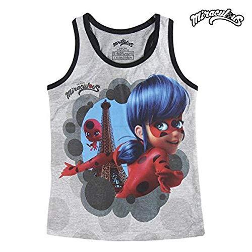 Geschichte Mädchen T-shirt (Miraculous, die Geschichten von Ladybug und Chat Noir 2200002629 Mädchen T-Shirt, Top, Baumwolle (4 Jahre))