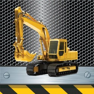 Digger Mad JCB Building Site Con...