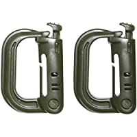 VIPER AIRSOFT MOLLE V-LOCKS POLYMER D-RINGS 2 PACK