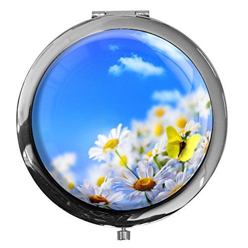 miroir-de-poche-pelouse