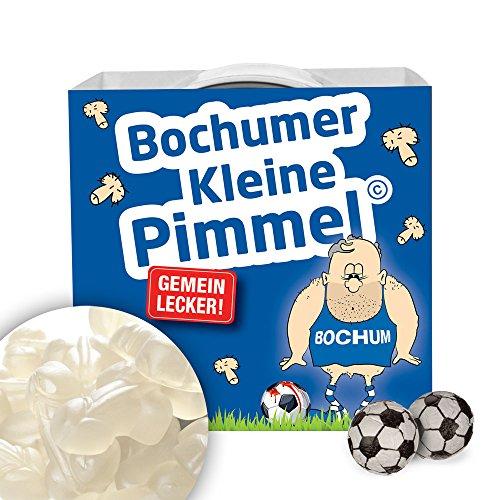 Bochumer Kleine Pimmel | Gemein leckere Fruchtgummi, inklusive Messlatte zum lachen & vergleichen | Achtung: RWE-, Schalke- & alle Fußball-Fans aufgepasst, so schön kann Fußball sein