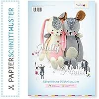 kullaloo Doble Papel Peluches patrón Melly & Mate by Lila de Lotta