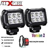 Allxpert 6 LED Bar Light Universal Bike Car Fog Light - Version 2