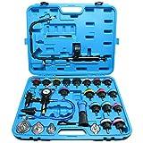 FreeTec Kit di pompa tester per sistema refrigerante da 28 pezzi strumento ad aria compressa per auto