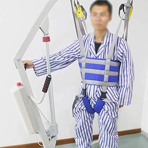 51LaFmRXhqL - ZIHAOH Cabestrillo De Elevación De Paciente De Cuerpo Completo, Cinturón De Transferencia Médica De Elevación para Personas Mayores Discapacitados, Cinturón para Caminar Asistido por El Paciente
