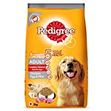 Pedigree Adult Dry Dog Food, (High Protein Variant), Chicken Egg and Rice, 3kg