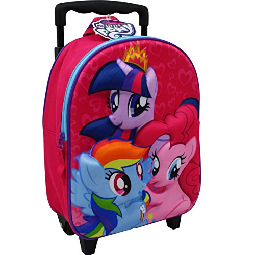 My Little Pony Trolley 7,5L Rucksack Kinderkoffer Koffer Kindertrolley Pink 8207 (Little My Pony-koffer)
