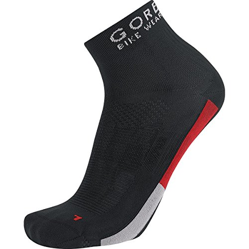 GORE BIKE WEAR, Calzini Ciclismo Unisex, Leggeri, Gore Selected Fabrics, OXYGEN Socks, Taglia 38-40, Nero/Grigio, FEOXYM