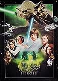 Star Wars Keilrahmen Bild 50x70cm auf Leinwand (Nr.2 Star Wars Heoros)