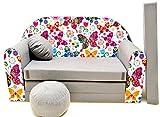 Canapé bebe enfant multifunction sofa lit 2en1 (160x98cm) (43)