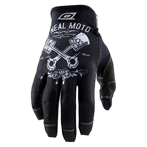 O'Neal Jump PISTONS Handschuhe schwarz/weiss Fahrrad Moto Cross Mountain Bike MTB MX Enduro, 0385JP-0, Größe X-Large -