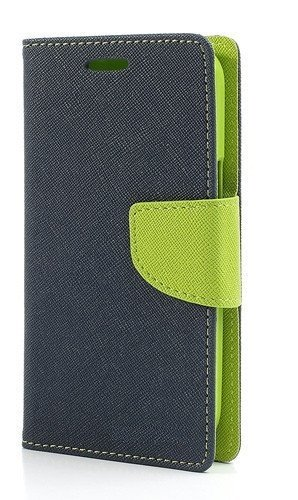 Dashmesh Shopping Fancy Diary Wallet Style Mercury Cover for LeEco Le 2 (Green Blue)
