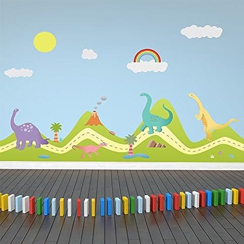 Walplus Sticker mural amovible autocollant Stickers muraux Nursery Enfants Enfants