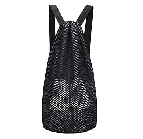 Black Temptation Basketball-Tasche, Trainingspaket, Basketball Net Bag, Rucksack, F1