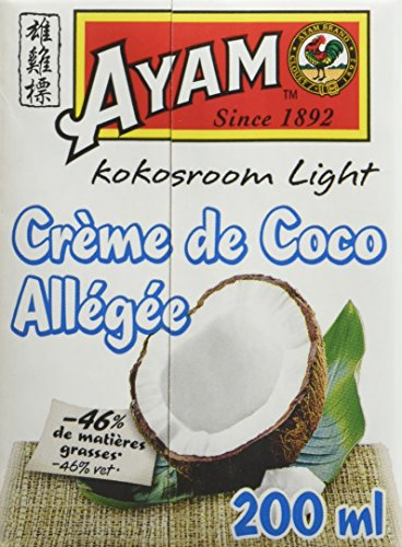 AYAM Crème de Coco Allégée - Lot de 6
