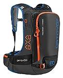 ORTOVOX Free Rider 22 Avabag Nylon Black backpack - backpacks (Nylon, Black, 420 D, Men, Front pocket, Hip belt pocket, Top pocket, Skis, Snowboard)