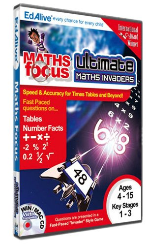 Ultimate Maths Invaders (PC CD) Test