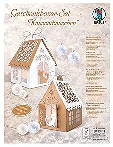 Ursus 27900099F Juego de Manualidades Cajas de Regalo knusper Casita