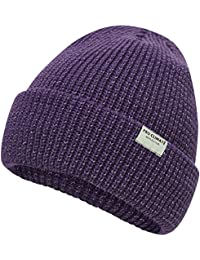 df7d802245a Pro Climate Turn Up Beanie Hat with Reflective Yarn