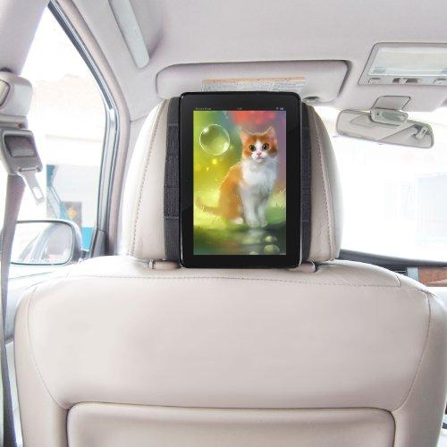 Fire Tablet 2015 Schnellverschluss Auto Kopfstützenhalterung - Schwarz von TFY (Fire HD 8