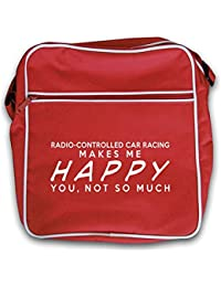 Radio-Controlled Car Racing Makes Me Happy - Retro Flight Bag - 2 Colours