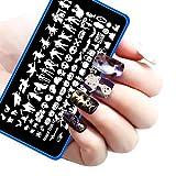 Best Kleancolor gel nail polish - Halloween DIY Nail Art Image Stamp Stamping Plates Review