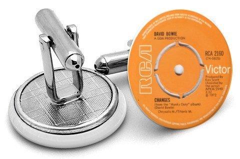Boutons de manchettes Label de disque David Bowie