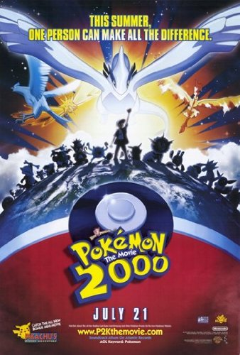 Pokemon the Movie 2000: the Power of One Movie Poster (27,94 x 43,18 cm)