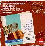 Bach, Graun, Telemann, Altinkol, Passions, Pasticcio