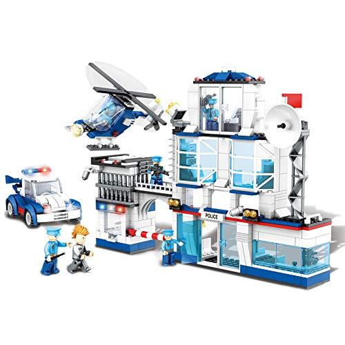YeoMark 624pcs City Police Station Set | Kit construcción