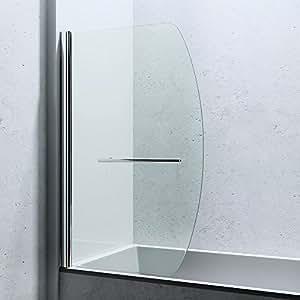 paroi de douche pare douche pour baignoire verre de s curit cortona112 bricolage. Black Bedroom Furniture Sets. Home Design Ideas