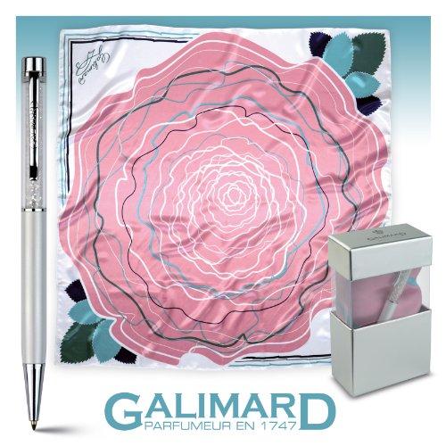 Galimard Glasfeder mit Seidenschal Effekt -