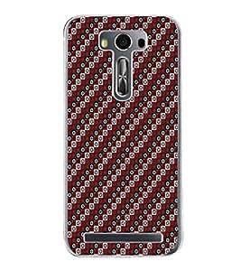 ifasho Designer Phone Back Case Cover Asus Zenfone Selfie ZD551KL ( Black and Yellow Flower Pattern Design )