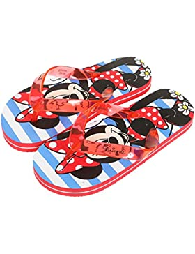 Tongs infantil, diseño de Minnie, color rojo %2Fbleu de 28 a 33