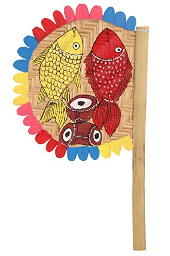 ananth-crafts-hand-painted-tribal-dance-bamboo-sticks-fan-for-decorations