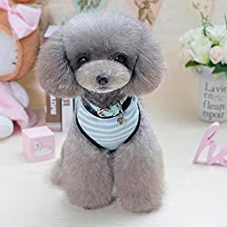 sunnymi Fashion Cute Little Solid Pet Dog Clothing Lovely Small Puppy Pet Dog Cat Clothes Costume Apparel For Walking Jogging Vest