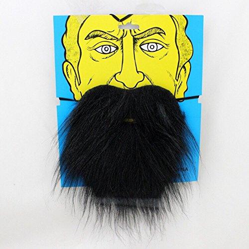 eihnachtsmann Falscher Zwergen-Bart zum Ankleben - Kostüm für Erwachsene & Kinder - perfekt für Fasching, Karneval & Weihnachten - Universal Damen Herren ()