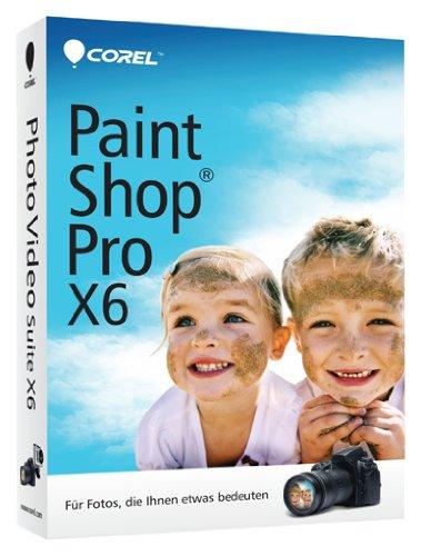 Corel PaintShop Pro X6, DE