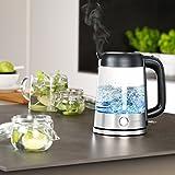 Arendo-Edelstahl-Glas Wasserkocher - 6