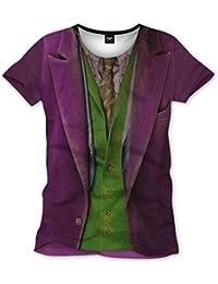 Batman T-Shirt Joker Anzug mit Alloverprint