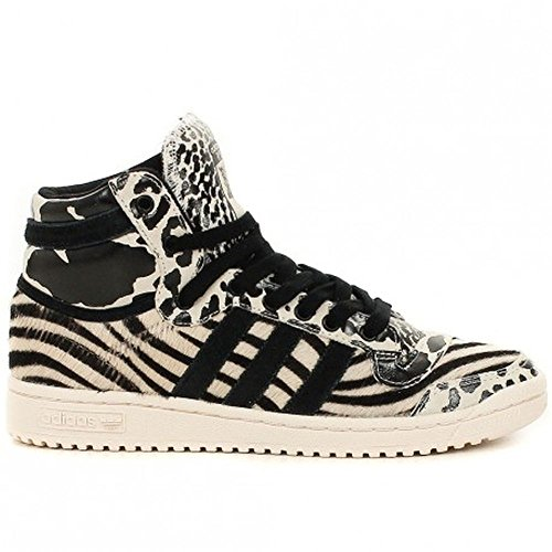 adidas Originals TOP TEN HI Sneaker White / Black