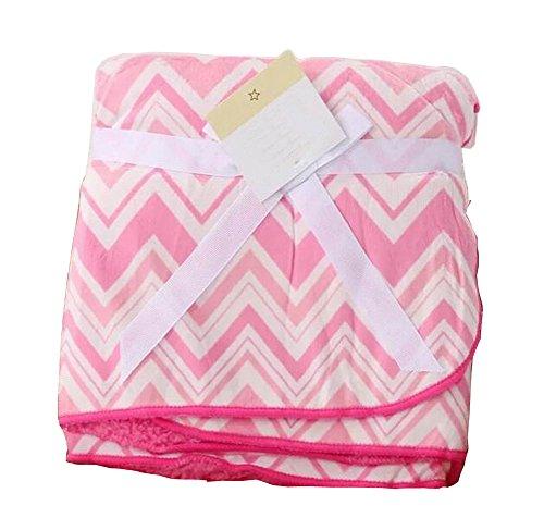 [Pink Wave] Multifunction Soft Velvet Warm Blanket / Lancer pour bébé