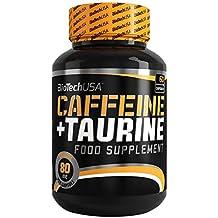 Biotech USA Caffeine & Taurine Nitrox y Energizante, Pack de 60 Cápsulas, ...